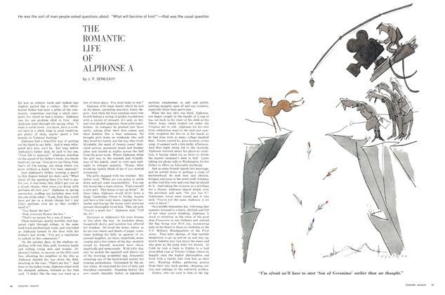 The Romantic Life of Alphonse  A