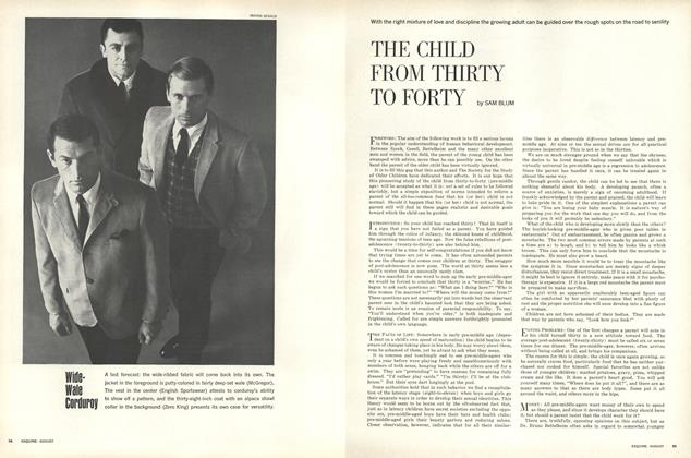 The Child from Thirty to Forty