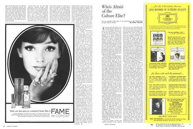 Article Preview: Who's Afraid of the Culture Elite?, December 1963 1963   Esquire