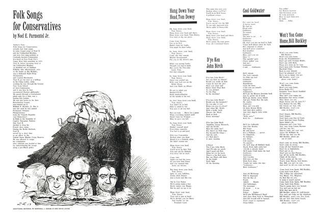 Folk Songs for Conservatives