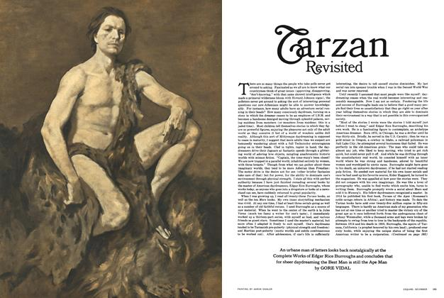 Article Preview: Tarzan Revisited, December 1963 1963 | Esquire