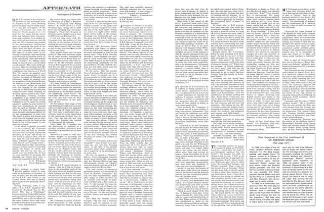 Article Preview: Apocalypse at Dresden, FEBRUARY, 1964 1964 | Esquire