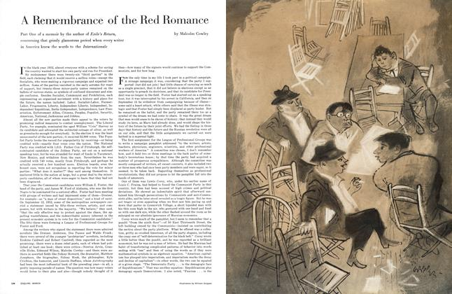 A Remembrance of the Red Romance