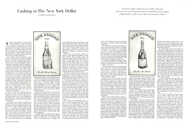 Article Preview: Cashing in the New York Dollar, April 1964 1964 | Esquire