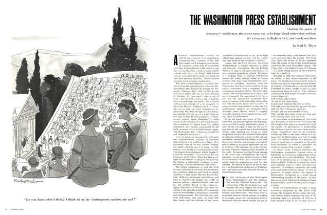 The Washington Press Establishment