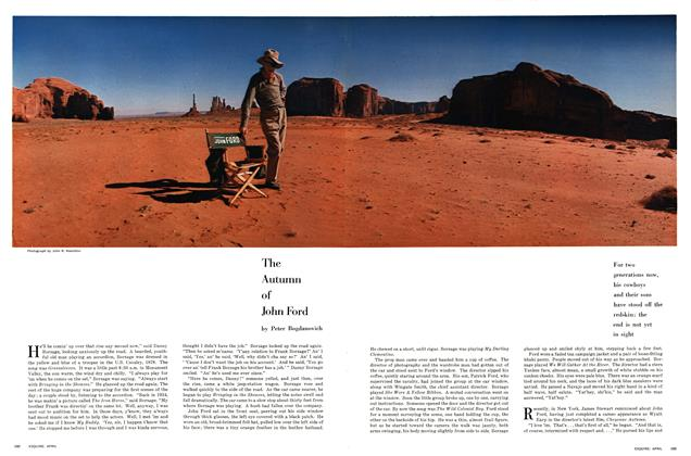 The Autumn of John Ford