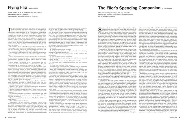 Article Preview: The Flier's Spending Companion, June 1964 | Esquire