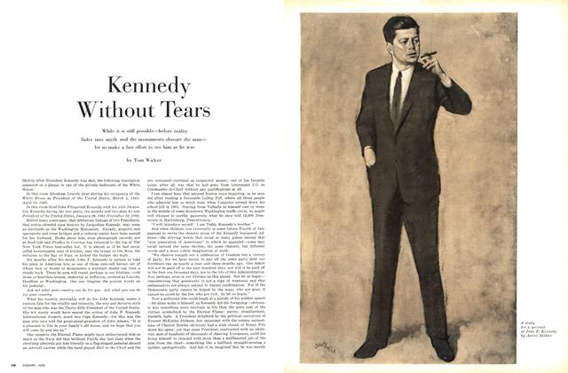 Article Preview: Kennedy Without Tears, June 1964 | Esquire