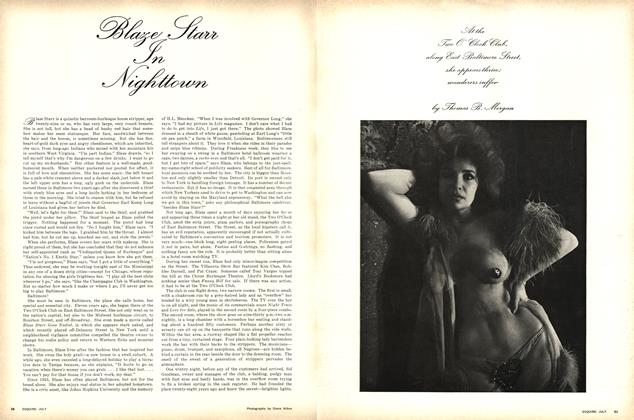 Article Preview: Blaze Starr in Nighttown, JULY 1964 1964 | Esquire