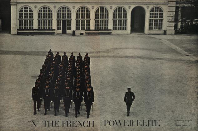 """X"" = the French Power Elite"