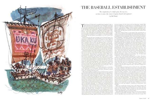 Article Preview: The Baseball Establishment, AUGUST, 1964 1964 | Esquire