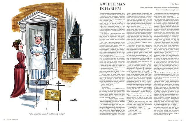 A White Man in Harlem