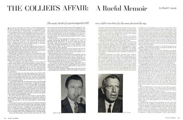 The Colliers's Affair: A Rueful Memoir