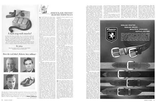 Article Preview: Secular Music, October 1964 | Esquire