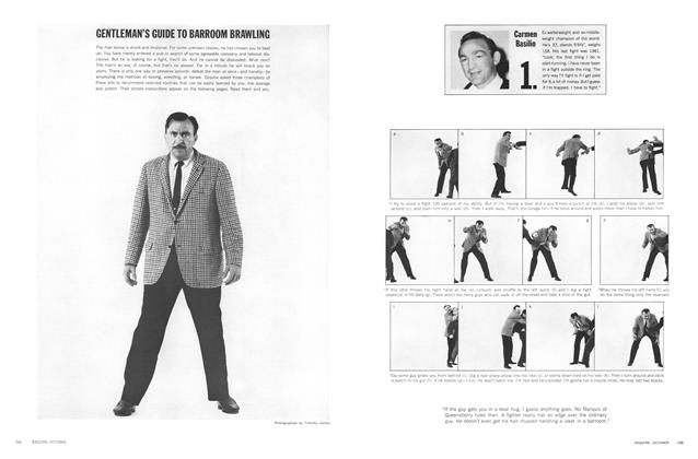 Article Preview: Gentleman's Guide to Barroom Brawling, OCTOBER, 1964 1964   Esquire