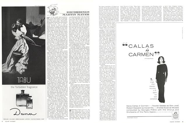 Article Preview: Recordings, NOVEMBER 1964 1964 | Esquire