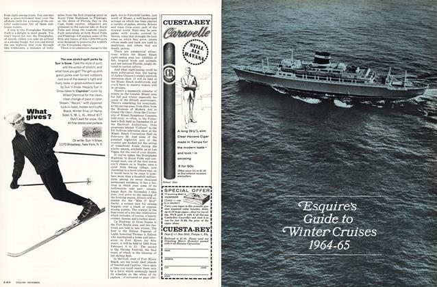 Esquire's Guide to Winter Cruises 1964-65