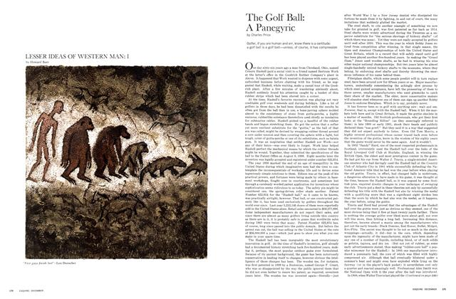 Article Preview: The Golf Ball: A Panegyric, DECEMBER, 1964 1964 | Esquire