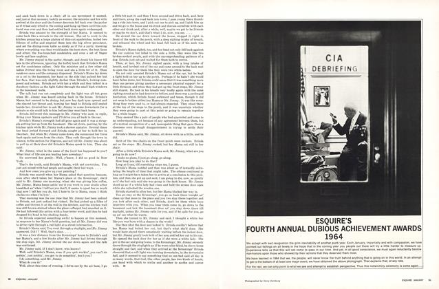 Article Preview: Esquire's Fourth Annual Dubious Achievement Awards, JANUARY, 1965 1965 | Esquire