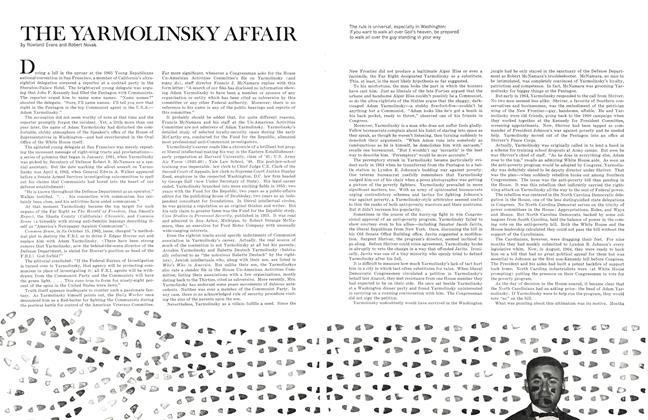 The Yarmolinsky Affair