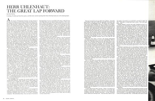Herr Uhlenhaut: The Great Lap Forward