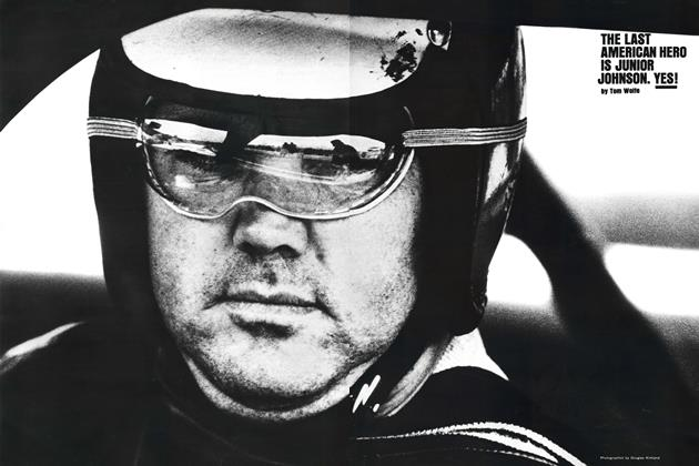 Article Preview: The Last American Hero Is Junior Johnson. Yes!, March 1965 | Esquire