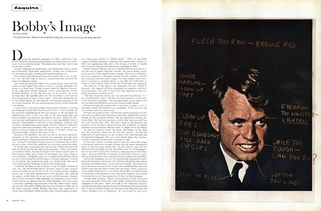 Article Preview: Bobby's Image, April 1965 | Esquire