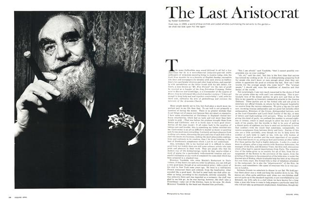 The Last Aristocrat