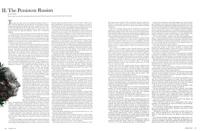 II. The Persistent Russian