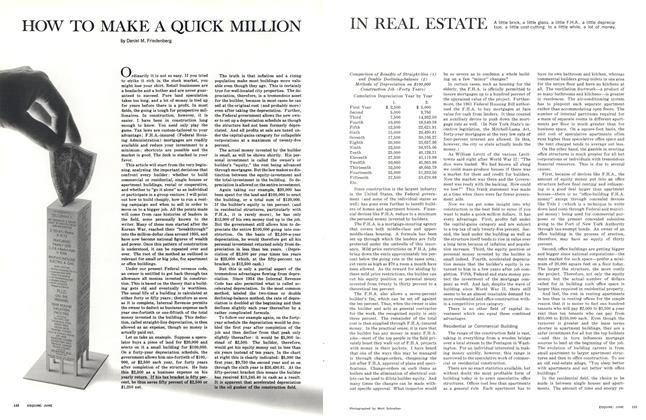 How to Make a Quick Million in Real Estate