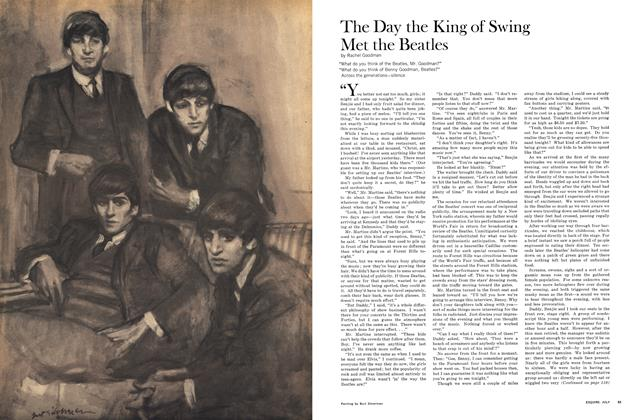 Article Preview: The Day the King of Swing Met the Beatles, JULY 1965 1965 | Esquire