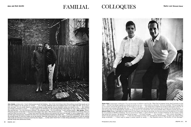 Article Preview: Familial Colloquies, JULY 1965 1965 | Esquire