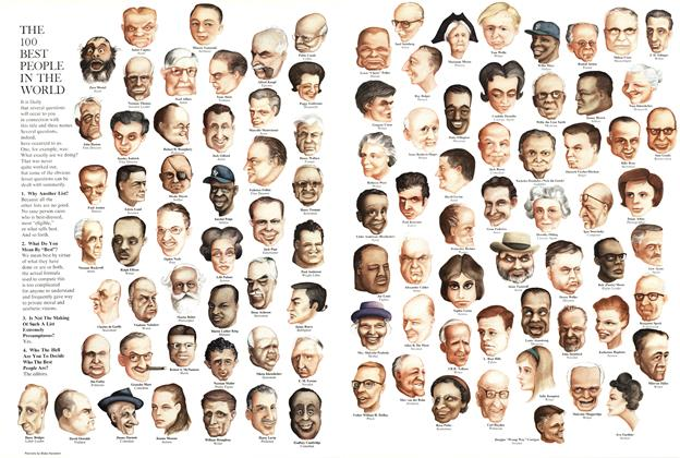 The 100 Best People in the World
