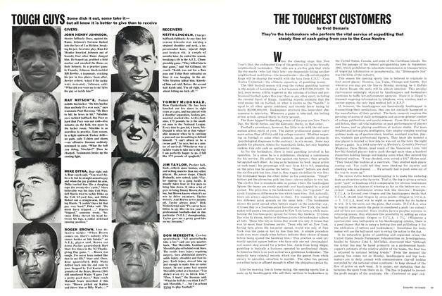 Article Preview: Tough Guys, OCTOBER 1965 1965 | Esquire