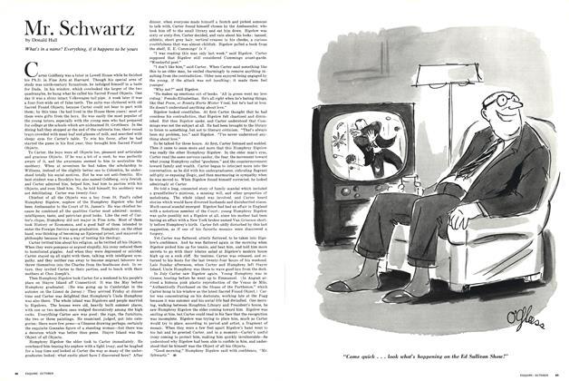 Article Preview: Mr. Schwartz, OCTOBER 1965 1965 | Esquire