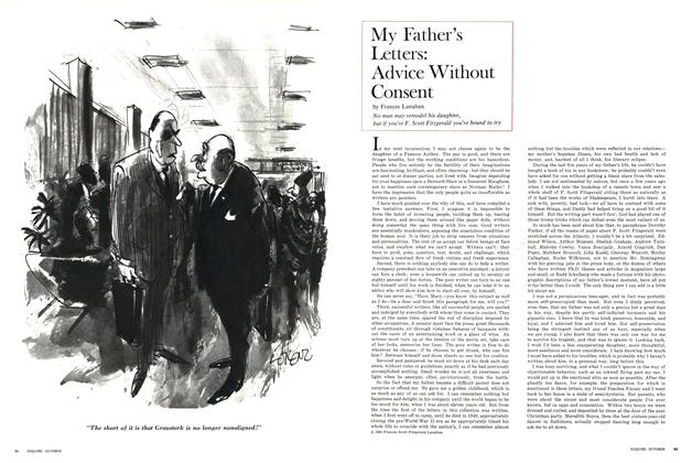 Article Preview: My Father's Letters: Advice Without Consent, OCTOBER 1965 1965 | Esquire