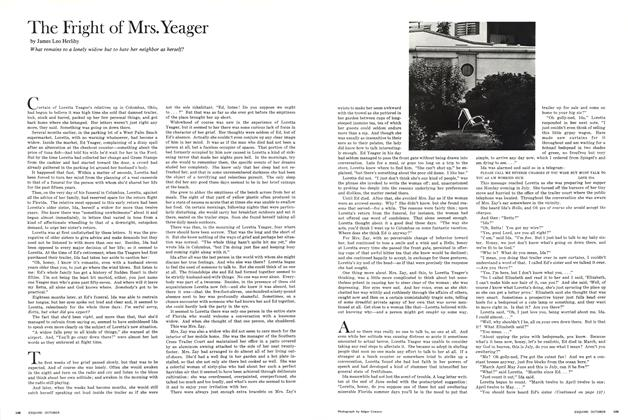 The Fright of Mrs. Yeager