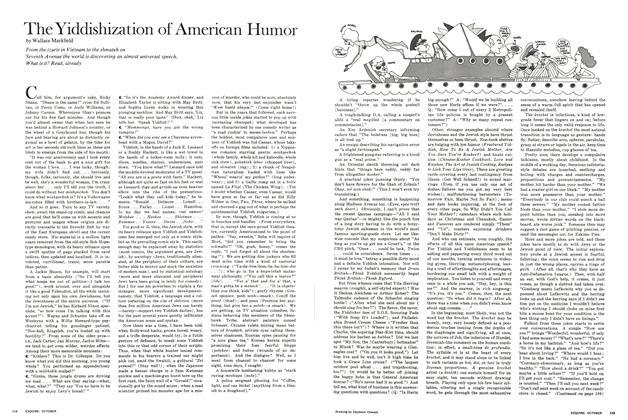 The Yiddishization of American Humor