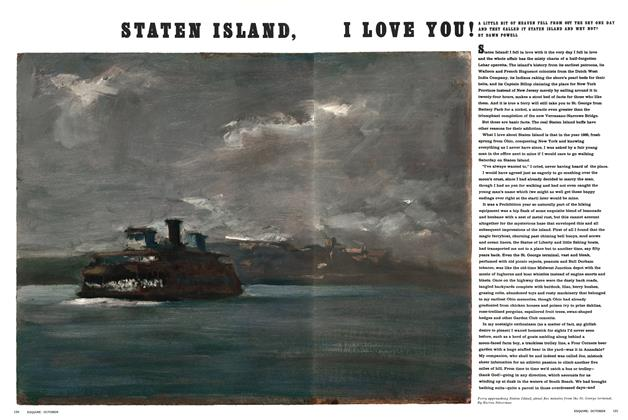 Article Preview: Staten Island, I Love You!, OCTOBER 1965 1965 | Esquire