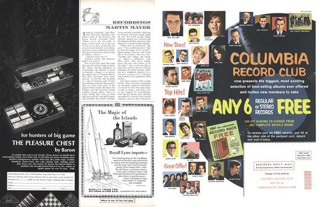 Article Preview: Recordings, NOVEMBER 1965 1965 | Esquire