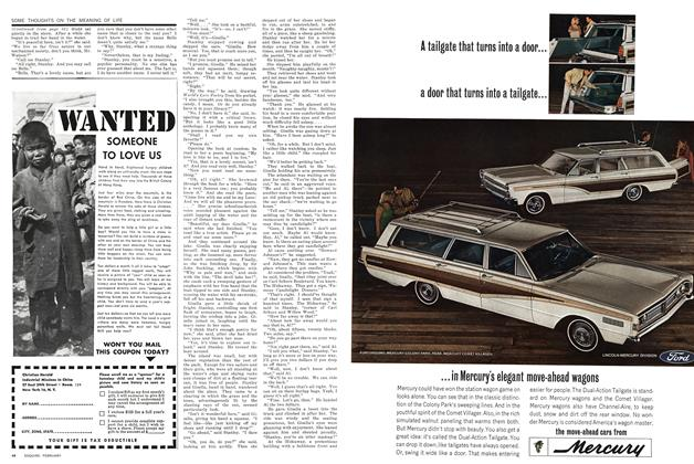 Article Preview: Some Thoughts on the Meaning of Life, FEBRUARY 1966 1966 | Esquire