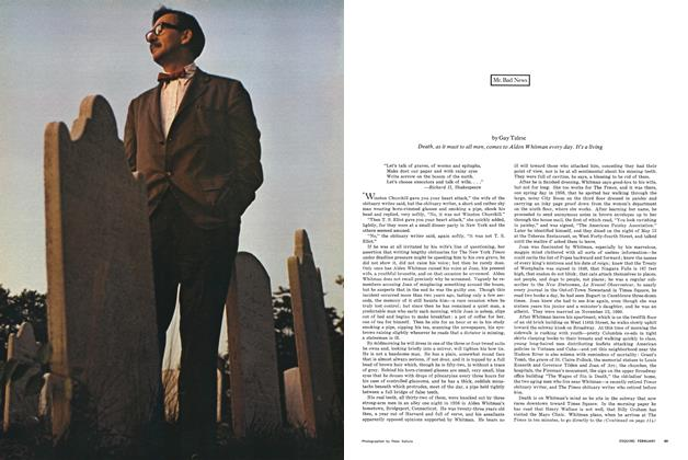 Article Preview: Mr. Bad News, FEBRUARY 1966 1966 | Esquire