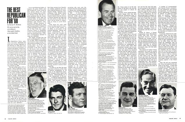 Article Preview: The Best Republican for '68, MARCH 1966 1966 | Esquire