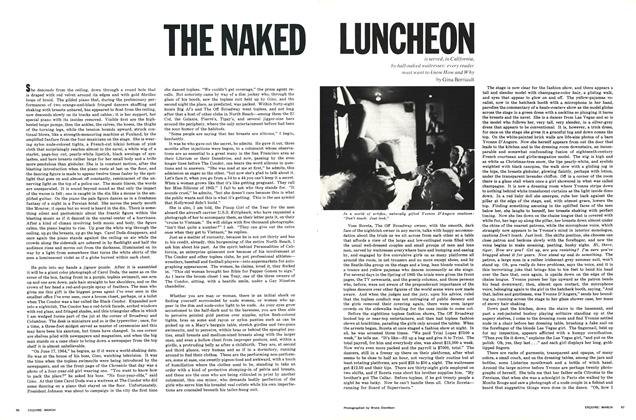 Article Preview: The Naked Luncheon..., MARCH 1966 1966 | Esquire
