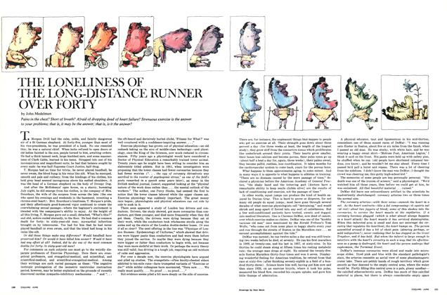 The Loneliness of the Long-Distance Runner Over Forty