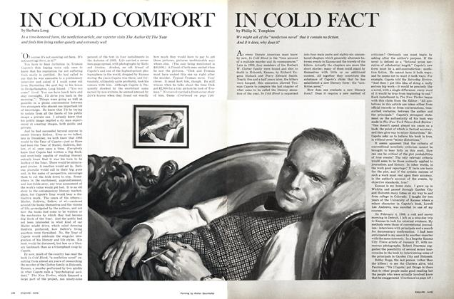 In Cold Comfort