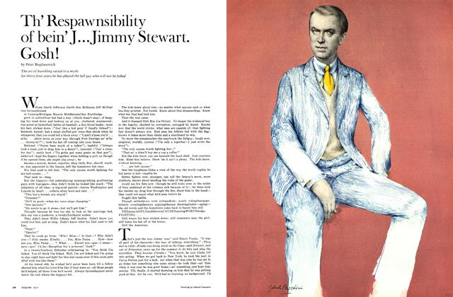 Th' Respawnsibility of bein' J... Jimmy Stewart. Gosh!