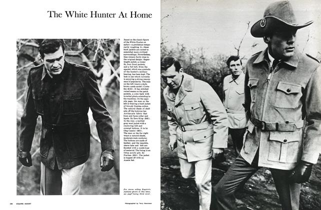 Article Preview: The White Hunter At Home, AUGUST 1966 1966 | Esquire