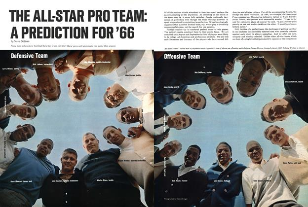 The All-Star Pro Team: A Prediction for '66