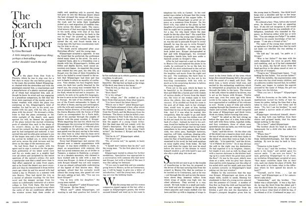 Article Preview: The Search for J. Kruper, October 1966 | Esquire
